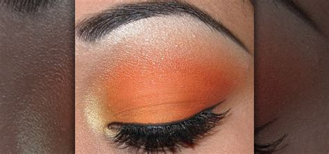Eyeshadow Naked8 Matte Orange how to create a matte orange eyeshadow makeup look