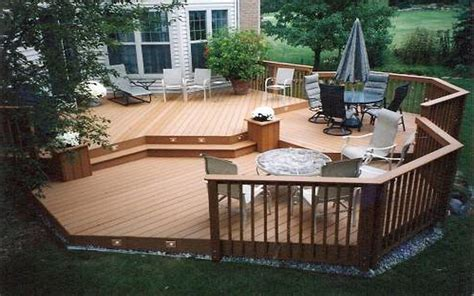 backyard wood deck ideas deck patio ideas small backyardspatio 2017 and for yards