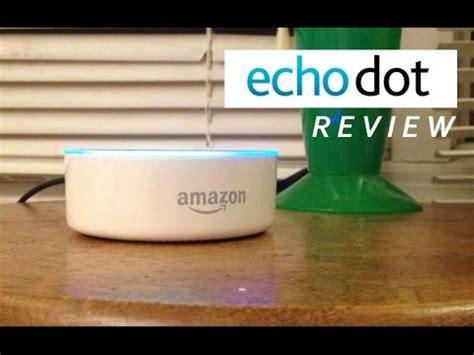 amazon echo dot (2nd gen) | review and alexa demo youtube