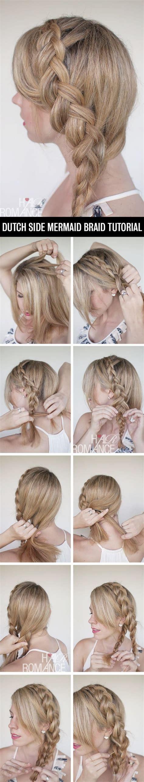 the ultimate mermaid braid step by step instructions 12 perfect braid hair tutorials hairstyles 2017 trendy