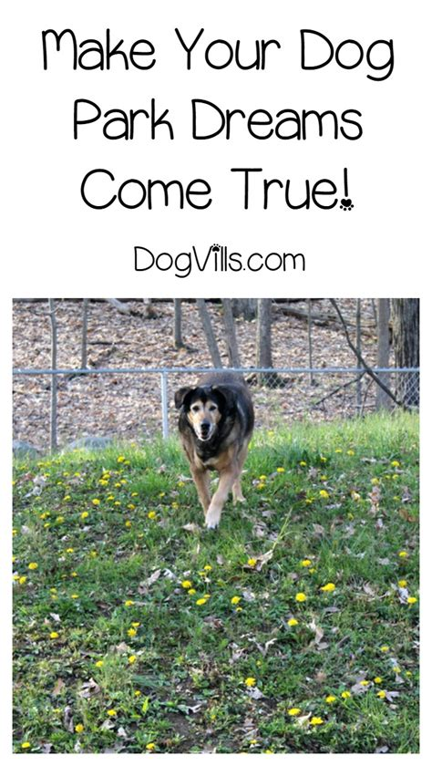 Dream Come True Sweepstakes - make your dream dog park come alive with beneful