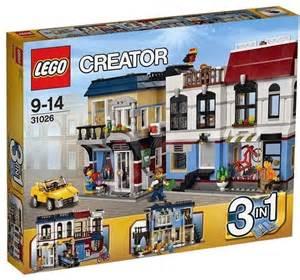 Building Creator building kit lego creator 31026 cykloshop and cafe
