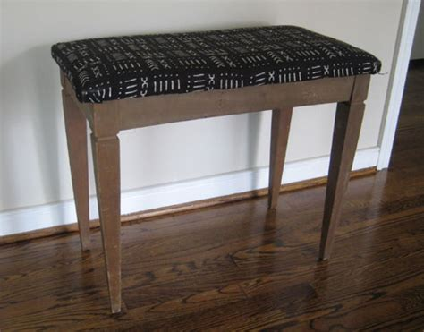 how to reupholster a bench seat how to paint reupholster and makeover a thrift store