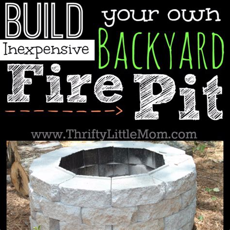 do it yourself firepit 31 diy outdoor fireplace and firepit ideas diy
