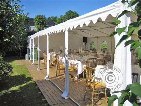 pavillon 6x6 partyzelt 6x6 m pvc festzelt vereinszelt gartenzelt