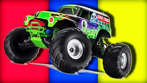 monster trucks video for kids monster car cartoon images impremedia net
