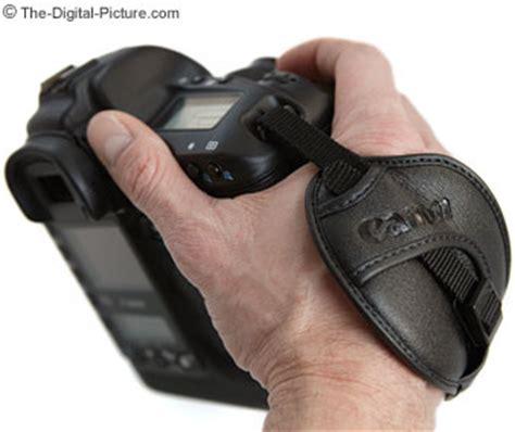 canon hand strap e1 review
