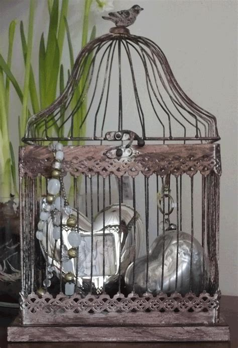 cage decorative petit monde