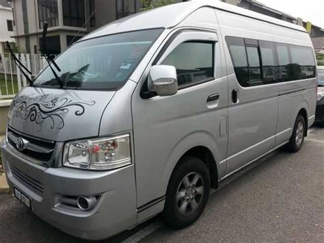 Toyota Commuter Hire For Rent Sewa Era Commuter Toyota Hiace For Hire From