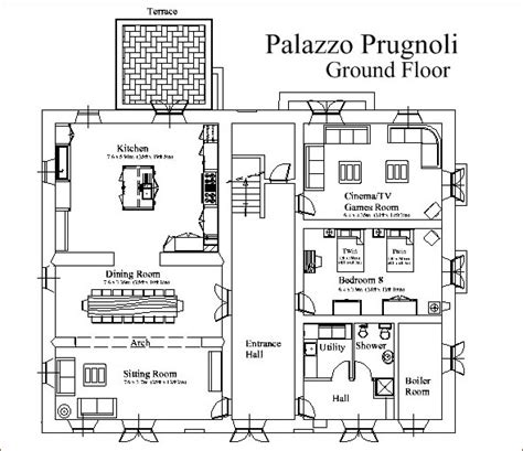 italian villa floor plans house plans pakistan ground floor studio design