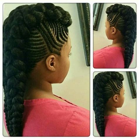 different types of mohawk braids hairstyles scouting for cardi b mohawk briyana hairstyles pinterest follow