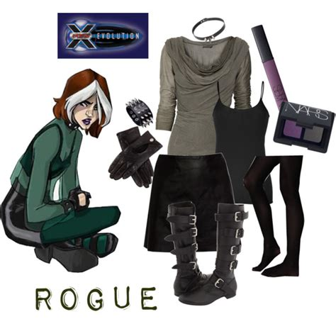 X Men: Evo Rogue S1   Polyvore