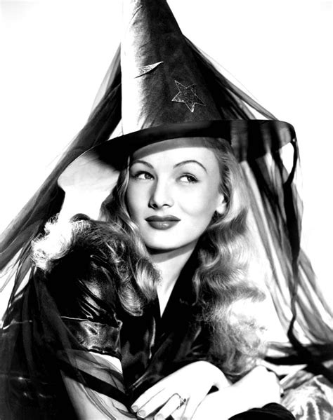 Classic Hollywood Witches | vintage halloween hollywood actress pin ups