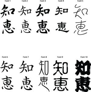 quotes in japanese kanji quotesgram