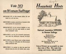 19th Amendment Essay by Vote No On S Suffrage Reasons For Not Letting Vote The Atlantic
