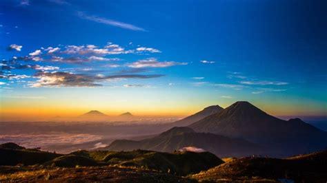 jalur pendakian puncak gunung prau dieng wonosobo