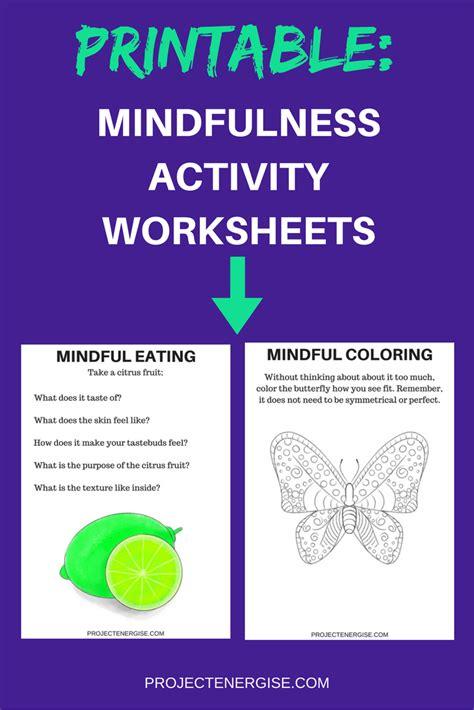 Mindfulness Meditation Worksheet