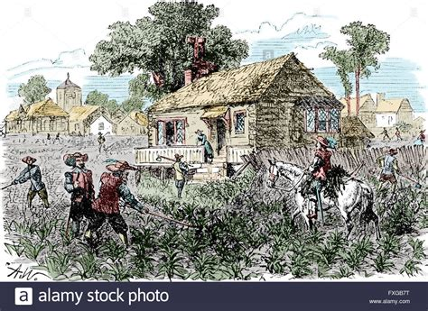 Seventeenth Century America Essays In Colonial History by American Colonies Plantation 17th Century Stock Photo Royalty Free Image