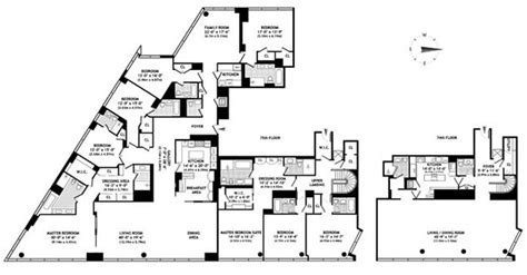 time warner center floor plan buyer takes half of scandalous time warner center condo