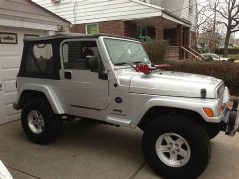 Jeep Wrangler Rocky Mountain Edition Find Used 2005 Jeep Wrangler X Rocky Mountain Edition In