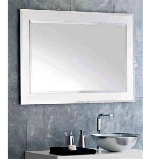 Framed Bathroom Mirrors Ideas by Bathroom Mirror Frame Bathroom Ideas Pinterest