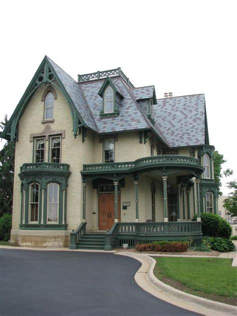 Gothic Style Home by World Architecture Images Carpenter Gothic Architecture