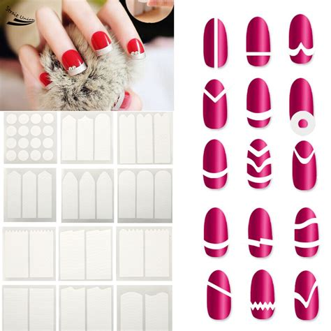 Manicure Stickers by Wholesale 18pcs Nails Sticker Tips Guide Manicure