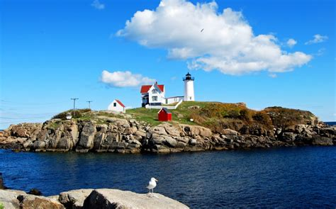 Nubble Light by Panoramio Photo Of Nubble Lighthouse Cape Neddick York