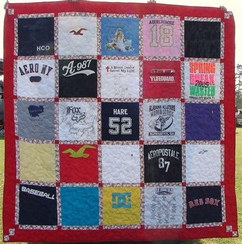 T Shirt Quilt Blocks by T Shirt Quilt Made To Order 25 Blocks