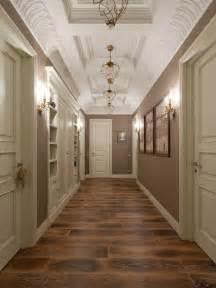 Couloir avec un mur marron photos et id 233 es d 233 co de couloirs