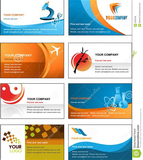 royalty free word compatible business card templates business card template design vector file stock vector
