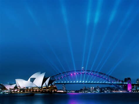 wallpaper for walls sydney sydney opera house at dusk wallpapers hd wallpapers id