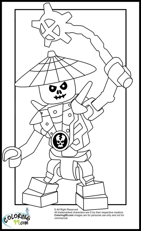 free coloring pages of ninjago krazi