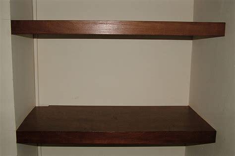 dark wood floating shelves by londoncarpenter co uk