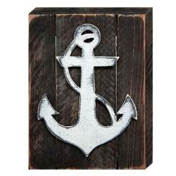 Rustic Nautical Home Decor Rustic Anchor Nautical Decor Vintage Board 98521authenticmonogram