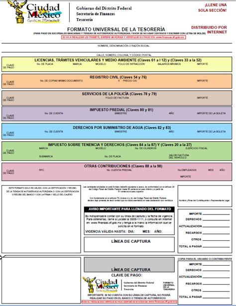 formato universal tenencia 2017 tecnolog 237 a para circular seguro