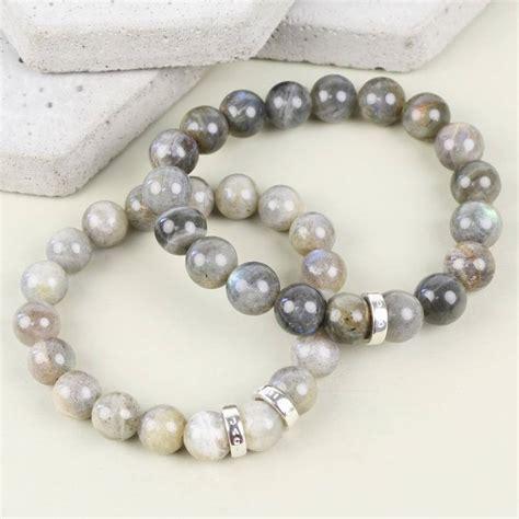 Personalised Handmade Jewellery - handmade personalised s labradorite bracelet by