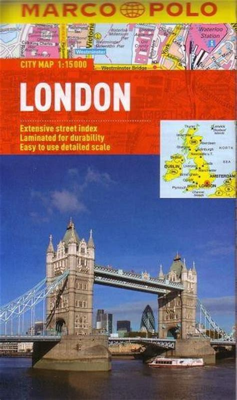 seville marco polo laminated london marco polo laminated map