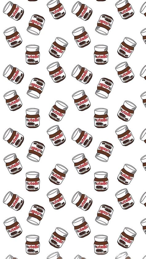 pattern iphone tumblr nutella iphone 5 wallpaper background all of all