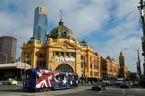 Search Melbourne Australia Melbourne City Images Flinders With Australia Tram Hd Wallpaper And Background