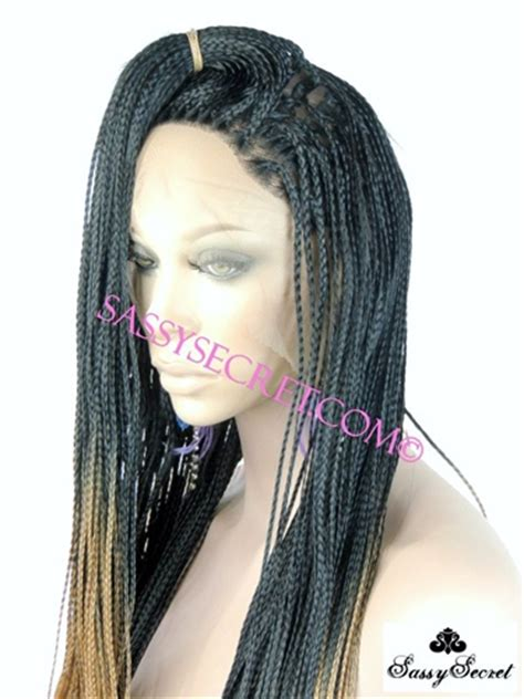 micro braid wig for sale ombre box braided lace wig micro braid lace wig sassy