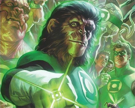 planet of the apes green lantern books preview planet of the apes green lantern 1 by thompson