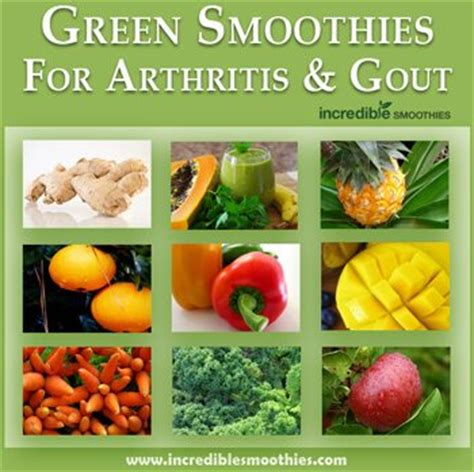vegetables bad for gout 5 green smoothies for arthritis gout davyandtracy