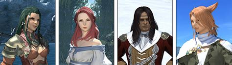 ffxiv change hair colour patch 2 3 notes full release 07 07 2014 final