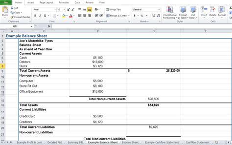 restaurant balance sheet example balance sheet pinterest