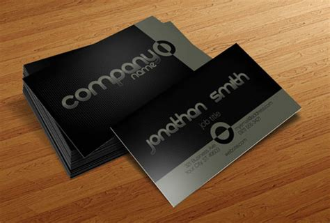 Absolutely Free Business Card Templates by 50 New And Absolutely Free Business Card Templates Psd
