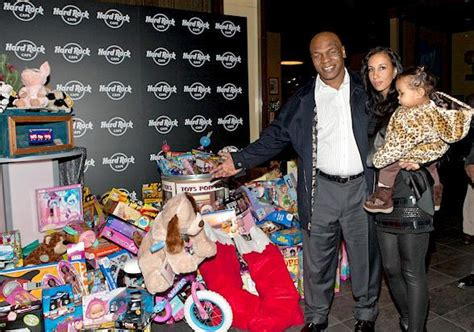 Trucker Hardrock Hotel 3 mike tyson and family visit u s marines toys for tots