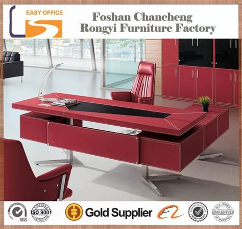 Office Desk Cheap Price Oem 2014 High Quality Cheap Price Black Office Modern Executive Leather Top Office Desk Buy