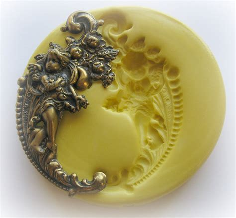 how to make a jewelry mold cherub mold jewelry diy resin clay moulds
