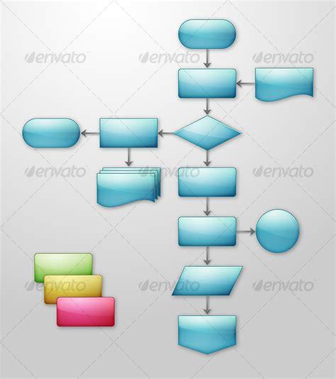 flowchart components flowchart components graphicriver